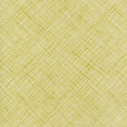 Carolyn Friedlander - Crosshatch - Pickle - Fabric - Robert Kaufman - Craft de Ville