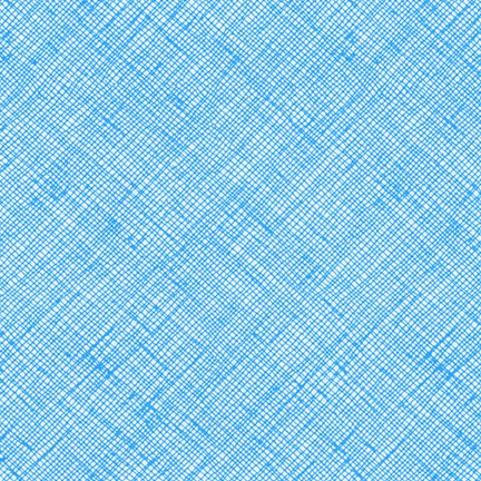 Carolyn Friedlander - Architextures Crosshatch - Paris Blue - Robert Kaufman - Craft de Ville