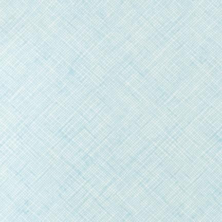 Carolyn Friedlander - Crosshatch - Lake - Fabric - Robert Kaufman - Craft de Ville
