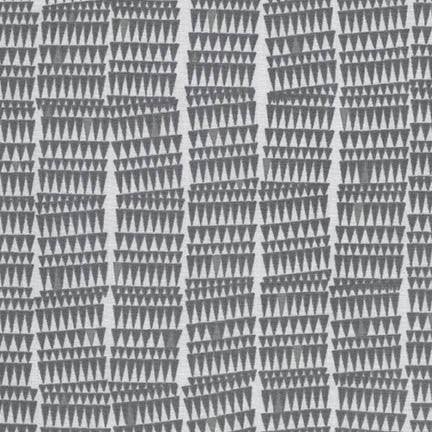 Carolyn Friedlander - Doe 15024 - Grey - Fabric - Robert Kaufman - Craft de Ville