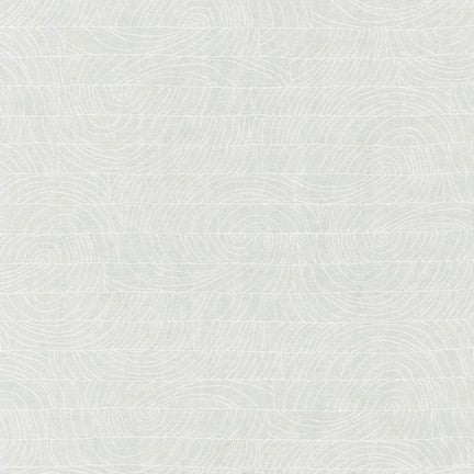 Carolyn Friedlander - Doe 15029 - White - Fabric - Robert Kaufman - Craft de Ville