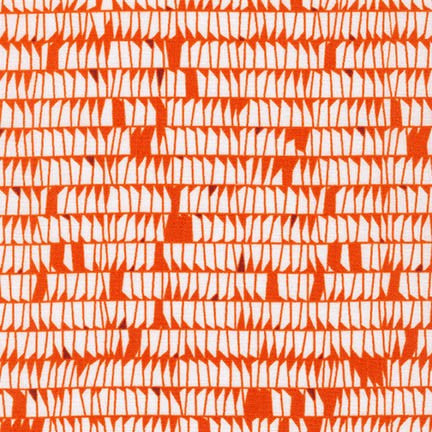 Carolyn Friedlander - Carkai 15794 - Tangerine - Fabric - Robert Kaufman - Craft de Ville