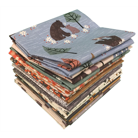 Lewis & Irene - Bear Hug - Fat Quarter Bundle - Lewis & Irene - Craft de Ville