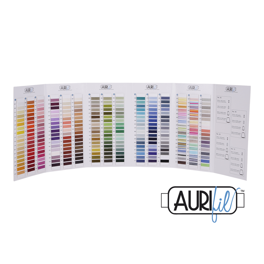 Aurifil Cotton Colour Chart - Aurifil - Craft de Ville