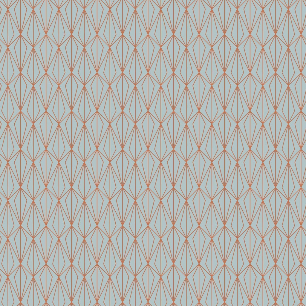 Lewis & Irene - City Nights - Architectural Light Blue & Copper