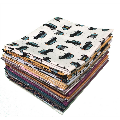 Lewis & Irene - City Nights - Fat Quarter Bundle - Lewis & Irene - Craft de Ville