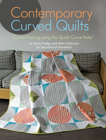 Contemporary Curved Quilts - Book - Sew Kind of Wonderful - Craft de Ville