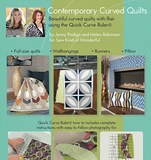 Contemporary Curved Quilts - Sew Kind of Wonderful - Craft de Ville