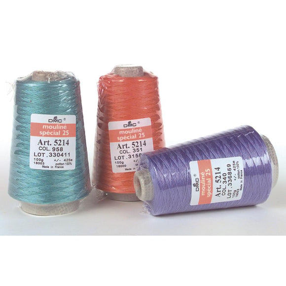 SPECIAL ORDER - DMC 6-Strand Embroidery Cotton - 100g Cone - DMC - Craft de Ville