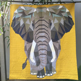The Elephant Abstractions Quilt - Violet Craft - Craft de Ville