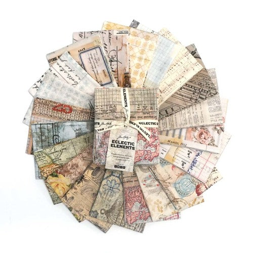 Tim Holtz - Foundations - Fat Quarter Bundle - Free Spirit - Craft de Ville