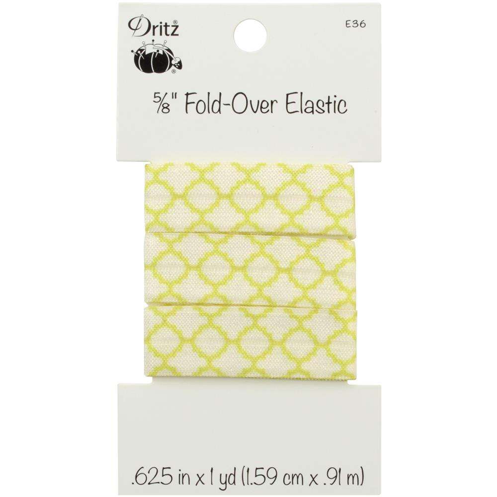 "Fold Over Elastic - 5/8"" - 1 yard - Dritz - Craft de Ville"