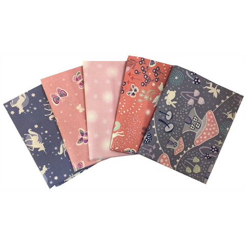 Lewis & Irene - Fairy Nights - Fat Quarter Bundle
