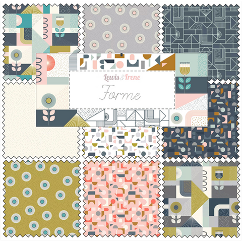 Lewis & Irene - Forme - Fat Quarter Bundle - Lewis & Irene - Craft de Ville
