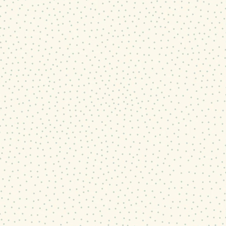Lewis & Irene - Forme - Dots Soft Blue on Cream - Lewis & Irene - Craft de Ville