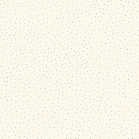 Lewis & Irene - Forme - Dots Soft Blue on Cream