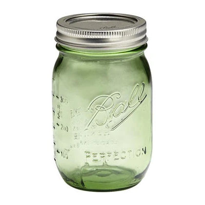 Mason Jar - 16 ounce - Perfection Spring Green - Ball - Craft de Ville