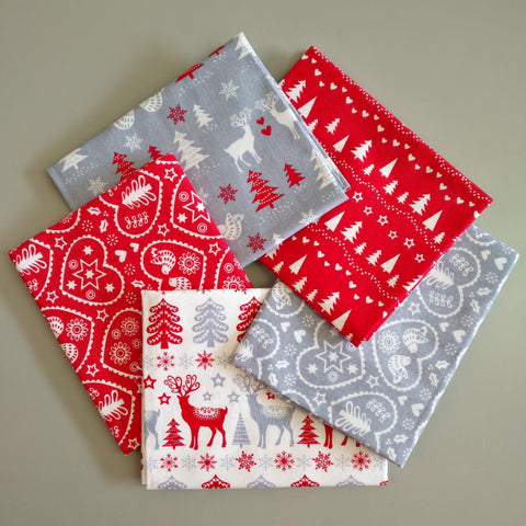 Scandi Christmas - Fat Quarter Bundle