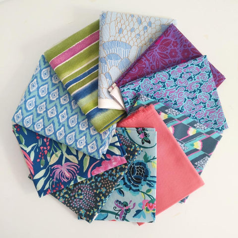 Curated Fat Quarter Bundles - Assorted 10