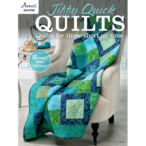 Jiffy Quick Quilts - Book - Annie's Quilting - Craft de Ville
