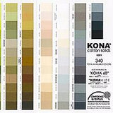 New Kona Colour Chart