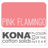 Kona Cottn - Pink Flamingo - Kona Cotton - Craft de Ville