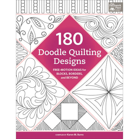 180 Doodle Quilting Designs - Martingale Press - Craft de Ville