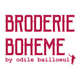 Odile Bailloeul - Broderie Boheme - Labyrinth in Spring - Free Spirit - Craft de Ville