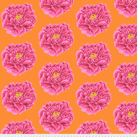 Kaffe Fassett - Full Blown in Pink - 3 Yards Quilt Backing 108""