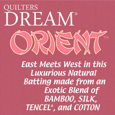 "SPECIAL ORDER - Quilters Dream Orient - Twin - 92"" x 72"" - Quilter's Dream - Craft de Ville"