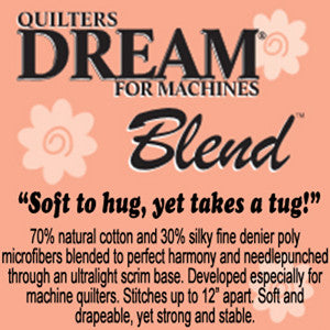 "SPECIAL ORDER - Quilters Dream Blend - 121"" wide - Full Roll - Quilter's Dream - Craft de Ville"