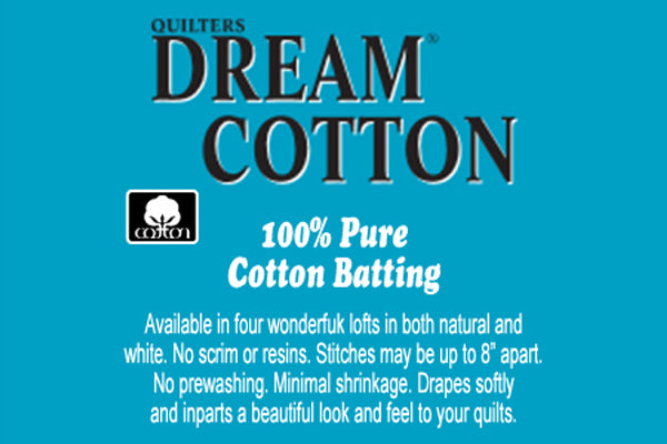 "SPECIAL ORDER - Quilters Dream Cotton Select White - 121"" wide - Full Roll"