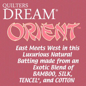 "SPECIAL ORDER - Quilters Dream Orient - Crib - 60"" x 46"" - Special Orders - Quilter's Dream - Craft de Ville"