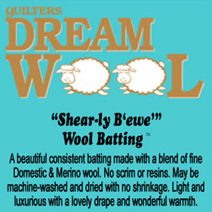 SPECIAL ORDER - Quilters Dream Wool - Queen - 108