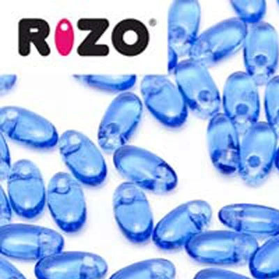 Rizo - Sapphire - 2.5X6mm - Beads & Findings - Rizo - Craft de Ville