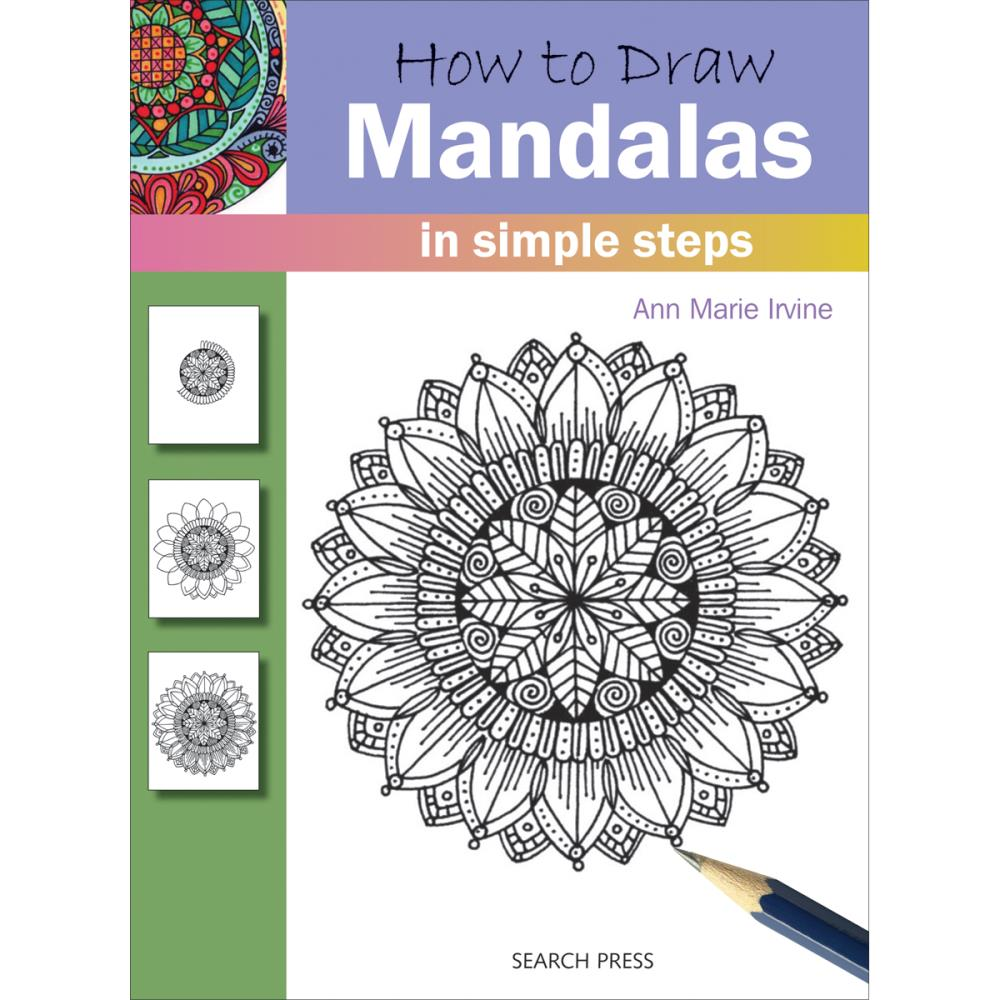 How to Draw: Mandalas in Simple Steps - Search Press - Craft de Ville