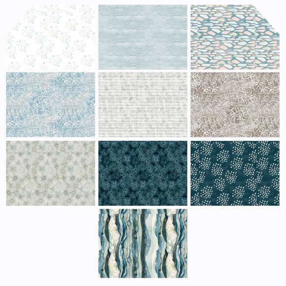 Shell Rummel - Time & Tide - Fat Quarter Bundle
