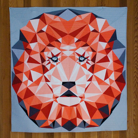The Lion Abstractions Quilt