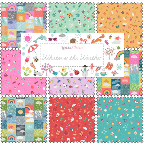 Lewis & Irene - Whatever the Weather - Fat Quarter Bundle - Lewis & Irene - Craft de Ville