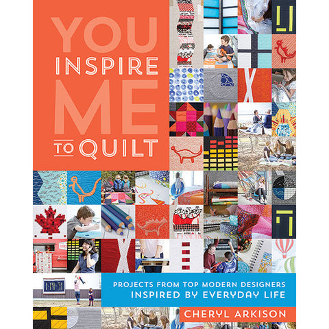 You Inspire Me To Quilt - Stash Books - Craft de Ville