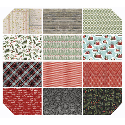 Tim Holtz - Yuletide - Fat Quarter Bundle - Free Spirit - Craft de Ville
