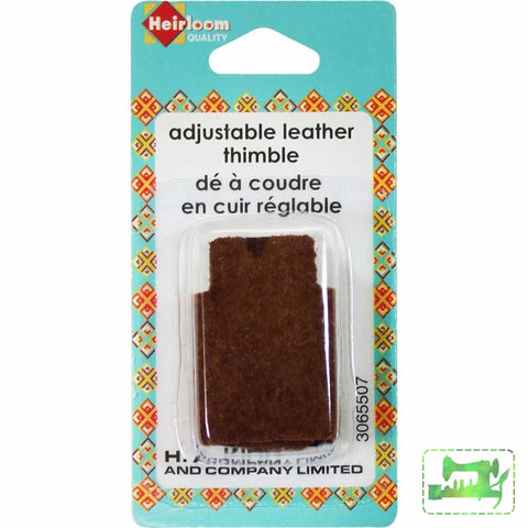 Adjustable Leather Thimble - Heirloom - Craft de Ville