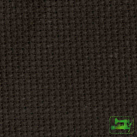 Aida Embroidery Cloth - Black 14Ct 15 X 18 Fabric