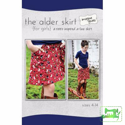 Alder Skirt for kids - imagine gnats - imagine gnats - Craft de Ville
