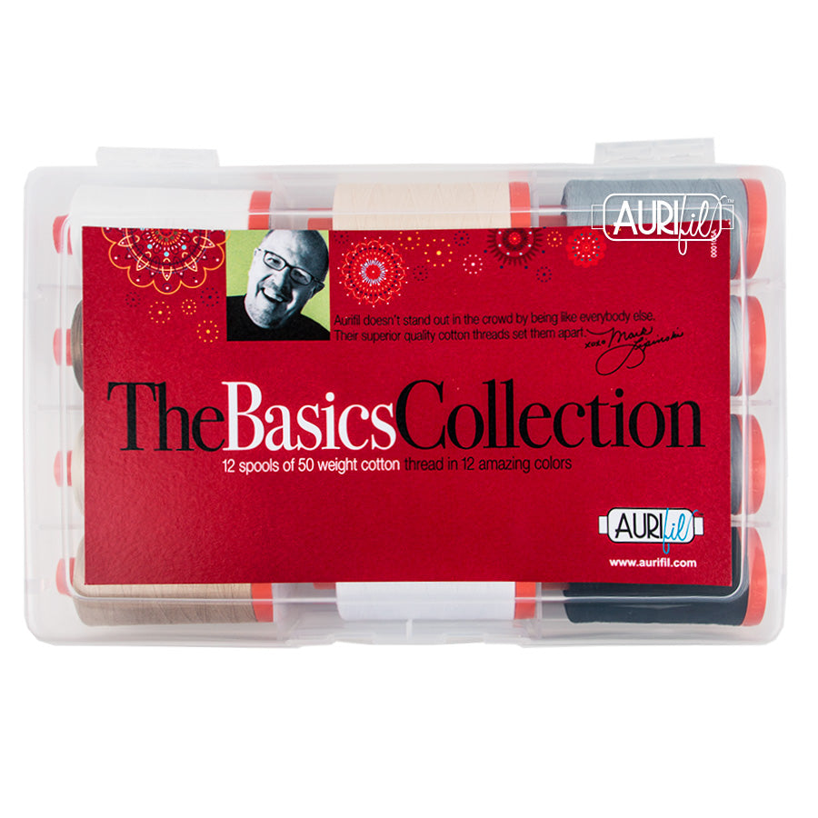 The Basics Collection - Aurifil - Craft de Ville