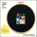 Primary Square Kit - Boiling Cabbage - Samantha Purdy Textile - Craft de Ville