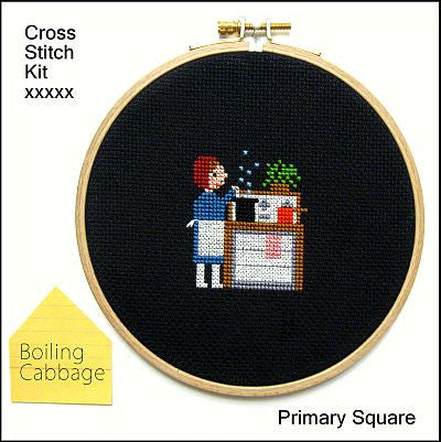 Primary Square Kit - Boiling Cabbage - Kits - Samantha Purdy Textile - Craft de Ville