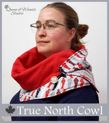 True North Cowl - Printed - Queen of Wands Studio