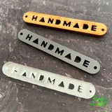 """Handmade"" Tags - 3 pack - Sassafras Lane Designs - Craft de Ville"
