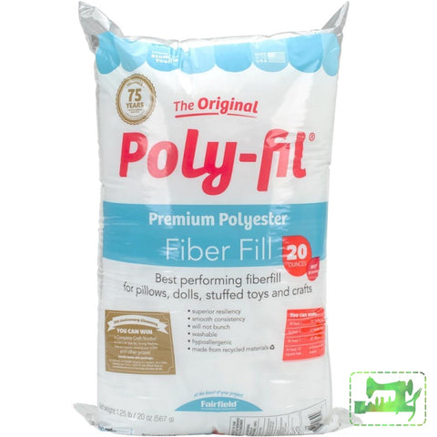 Poly-Fil Premium Polyester Fiberfill - Fairfield - Craft de Ville